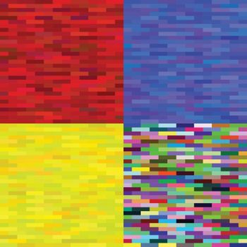 illustration with  abstract  multicolored backgrounds  for your design