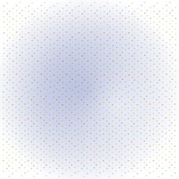 funny background with dots