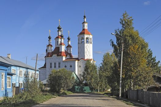 Church of the Entry into Jerusalem in Totma (now Museum of seafarers), northern Russia