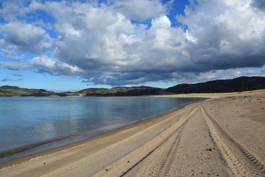 Beach Barents sea
