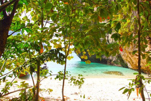 Tropical beach of Similan islands, Thailand