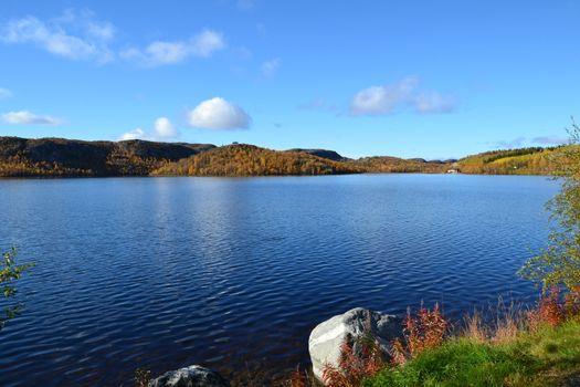 Lake in Kirkenes Norway