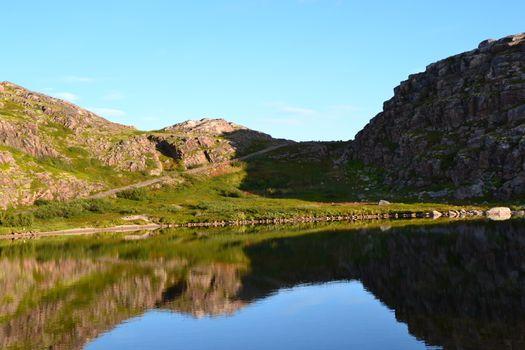 Lake in Murmansk region
