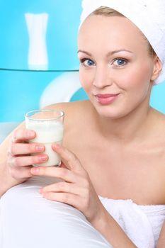 Milk diet - healthy diet