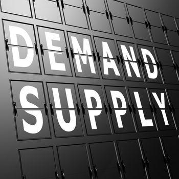 Airport display demand supply