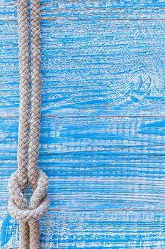 Marine rope on deck