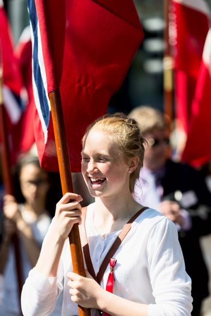 17 may oslo norway girl on parade
