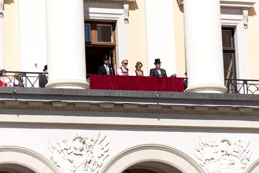17 may oslo norway on front of royal family
