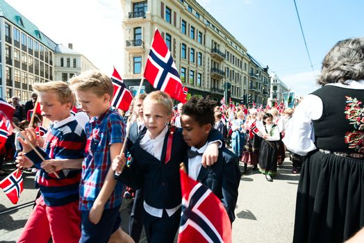 17 may oslo norway celebration of constitution day