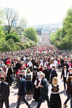 17 may oslo norway parade on main street