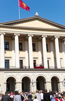 17 may oslo norway Royal Family
