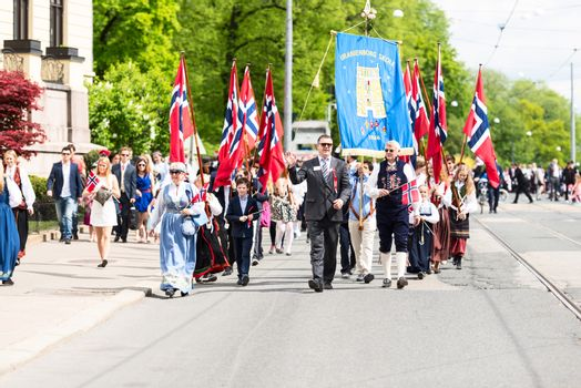 17 may oslo norway marching on parade