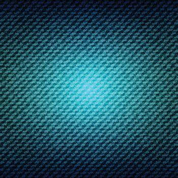 Blue jean denim texture background, stock vector