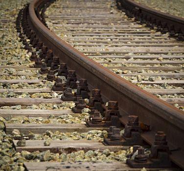turn rail track