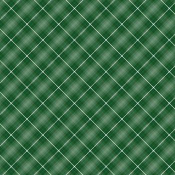 Seamless cross green shading diagonal pattern, stock vector