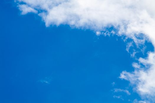 Blue sky with white clouds series13