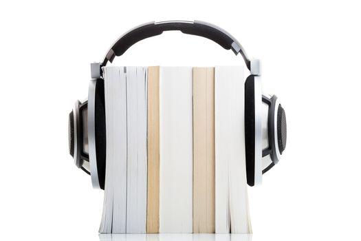 Audiobook concept - listen to your books in HD quality