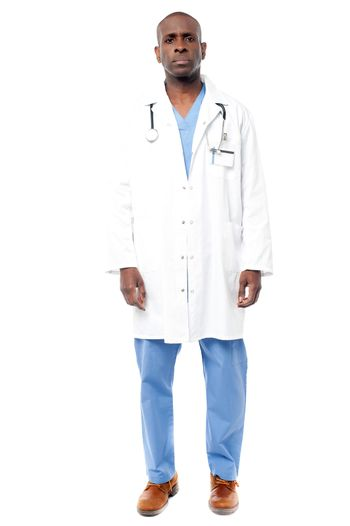 Handsome  male physician