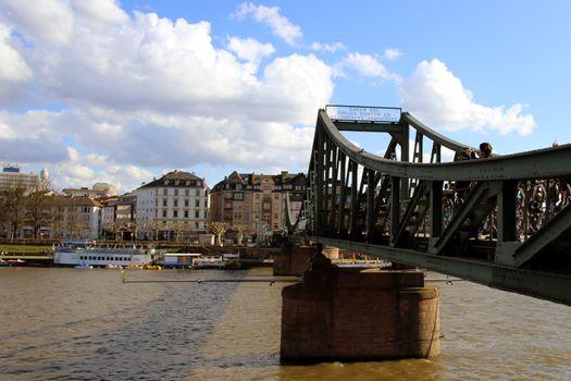Eiserner Steg, bridge in Frankfurt