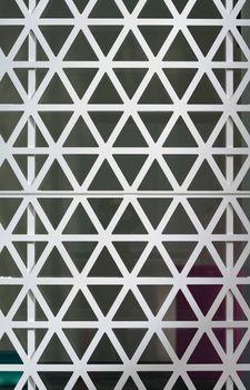 Hexagons steel facade
