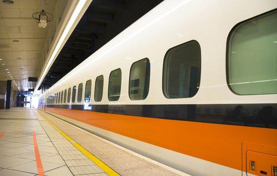 High Speed Rail Station platform