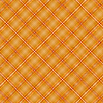 Seamless cross orange shading diagonal pattern, vector illustration