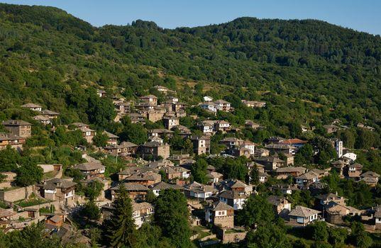 Kovatchevitsa village in Bulgaria