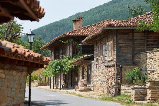 Street in Zheravna village