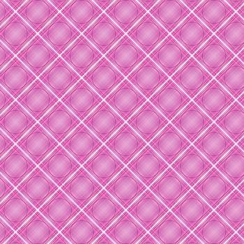 Seamless cross pink shading diagonal pattern, vector illustration