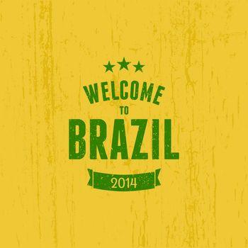 Brazil Typographic Design
