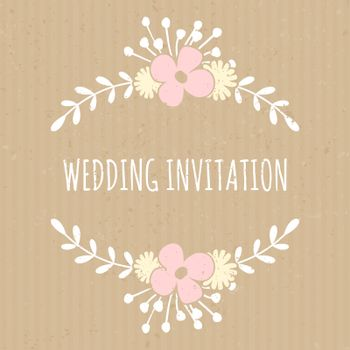 Cardboard Paper Wedding Design