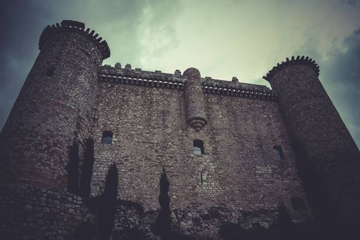 Fortification, Medieval castle, spain architecture