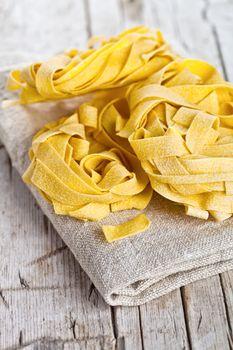 raw egg pasta