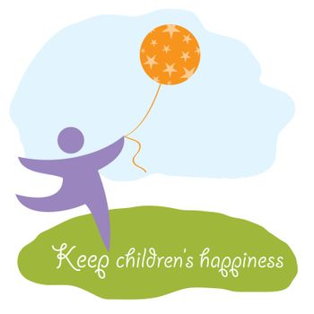 keep children's happiness