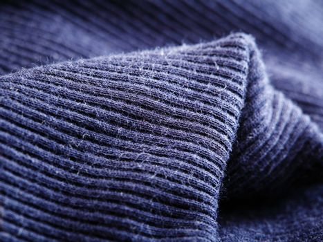 Navy blue sleeve