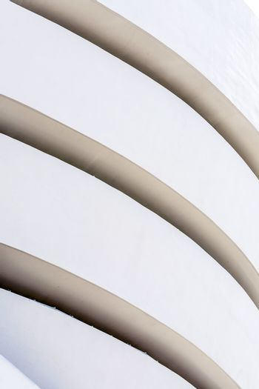 Facade of the Guggenheim Museum