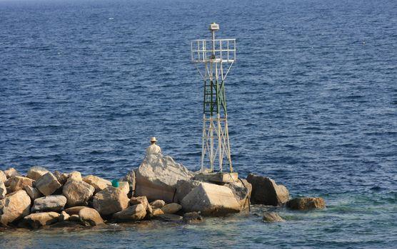 Fisherman,Greece,Chalkidiki peninsula