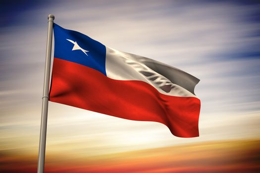 Chile national flag