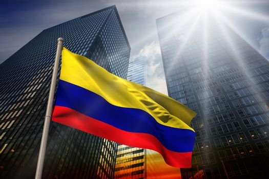 Colombia national flag