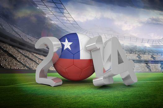 Chile world cup 2014