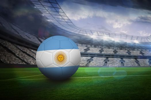 Football in argentina colours