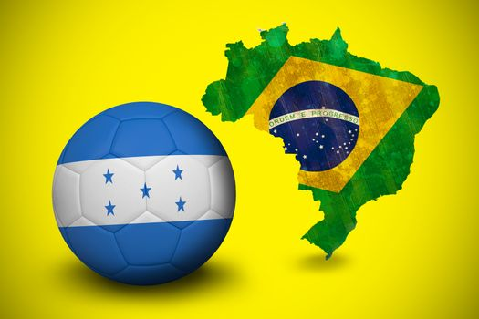 Football in honduras colours