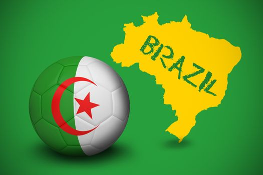 Football in algeria colours