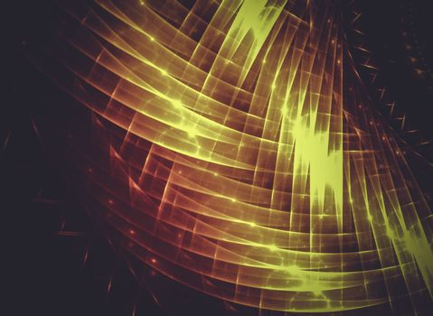 abstract sunset, Creative design background, fractal styles with color design