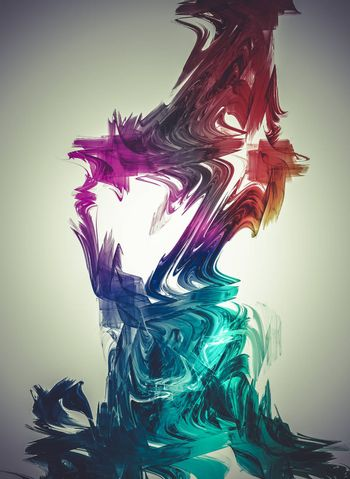 Gas, Creative design background, fractal styles with color design