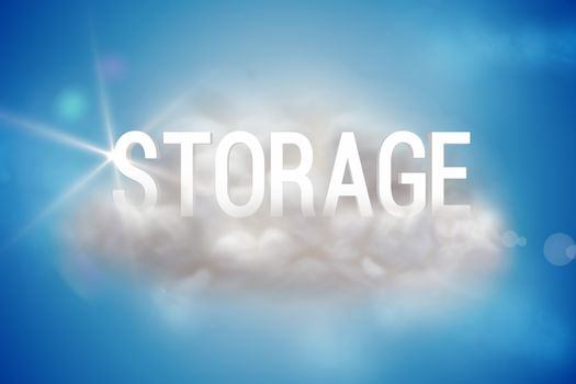 Storage on a floating cloud