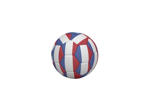 Football in french colours