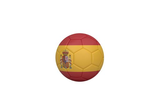 Football in spain colours