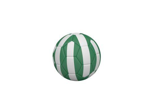 Football in nigeria colours