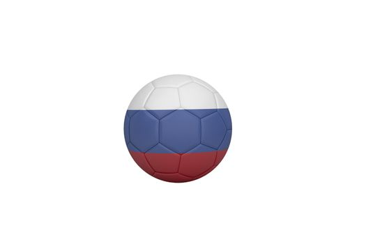 Football in russia colours